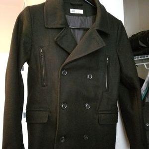 H&M medium weight boys Pea Coat